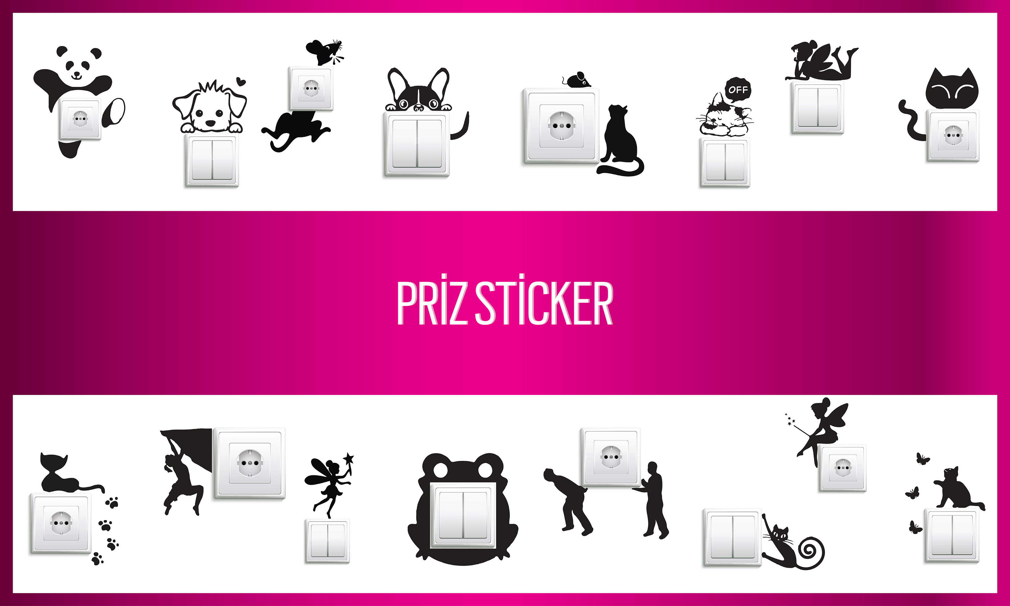 Priz Sticker